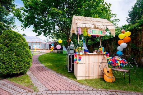 Тики-Бар (мини-бар) - оформление свадьбы в Гавайском стиле