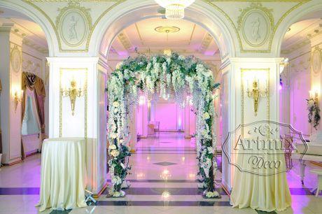 Свадебная арка – это прекрасный аксессуар для торжества