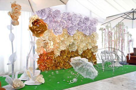 Свадебный реквизит - зонт