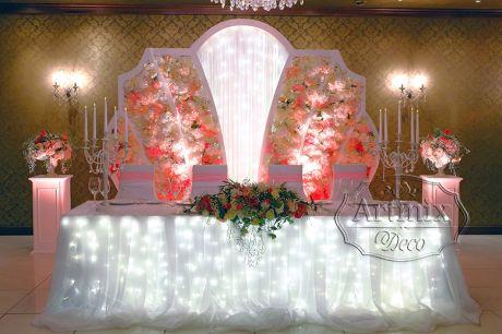 Свадебная арка Корона - новый, потрясающий вариант для оформления фона за молодожёнами