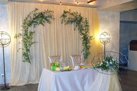 Свадьба в ресторане Атриум Холле, стиль ЛОФТ