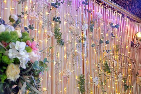 Оформление свадебного фона  в стиле Лофт