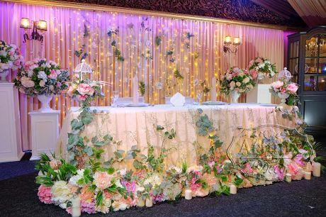 Оформление свадьба в стиле Лофт
