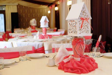 Домик сувенир – светильник на свадьбу в аренду