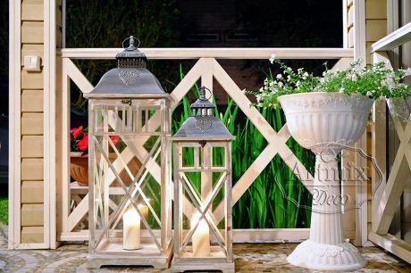 Декоративный фонарик для украшения на свадьбу