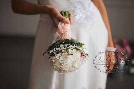 Свадебный букет (на своих ножках)