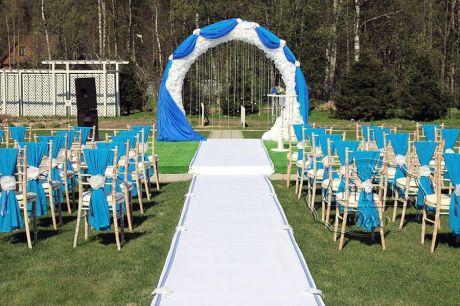 Выездная регистрация брака на территории комплекса Иваново Подворье