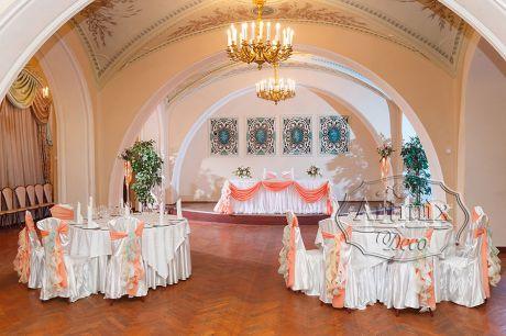 Оформление свадьбы в банкетном зале Дома Офицеров на Литейном