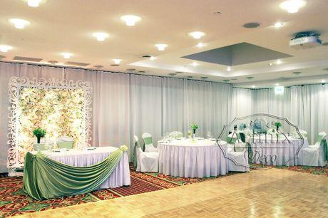 Мятная свадьба в отеле Ренессанс Санкт-Петербург Балтик