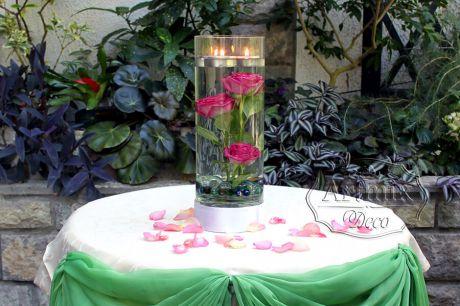 Розы на свадьбе