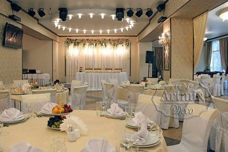 Оформление свадьбы в ресторане Багратион Холл