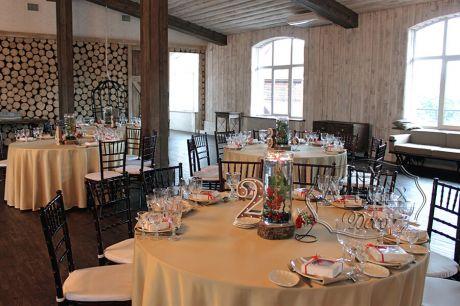 Свадебное оформление зала в стиле Лофт