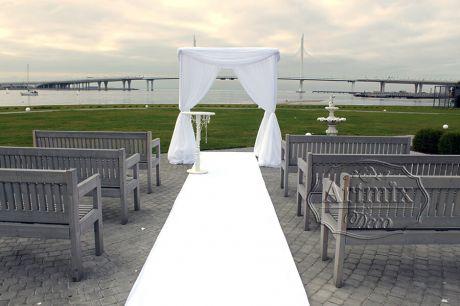 Белоснежная свадебная церемония