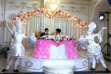 Свадебное оформление банкетного зала во Дворце Сюзора на Гороховой